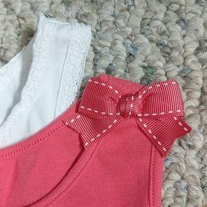 Girls tank top bundle in sizes 6-7, Gymboree & Gap